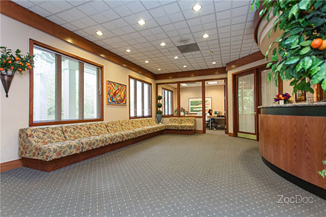 lawrenceville orthodontists reception room